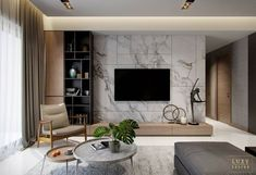 7 veces he visto estas magníficas muebles minimalistas. Apartment Interior, Living Room Interior, Home Living Room, Home Interior Design, Living Room Decor, Living Room Tv Unit Designs, Tv Unit For Living Room, Living Room Tv Cabinet, Tv Wall Decor