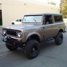 International Scout...one of my dream cars!