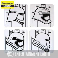 Star Wars 7 Stormtrooper Coaster 4-Pack EE Exclusive
