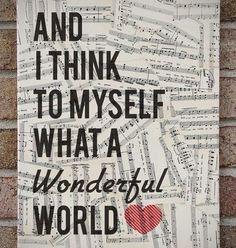 Ohne Musik würde die Menschheit ziemlich arm aussehen.Musik verbindet ;)