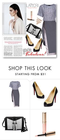 """""""LATTORI 12"""" by edy321 ❤ liked on Polyvore featuring Lattori, Christian Louboutin, Carianne Moore, By Terry and lattori"""