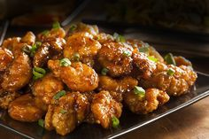 Our orange chicken recipe delivers mouthwateringly juicy flavor without a frightening calorie count. Pinapple Chicken Recipes, Tumeric Chicken Recipes, Balsamic Chicken Recipes, Breaded Chicken Recipes, Chinese Chicken Recipes, Chicken Wing Recipes, Healthy Chicken, Roasted Chicken, Glazed Chicken