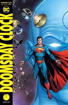 Full DC Comics November 2017 Solicits, As Dr Manhattan Creates Superman… Comic Book Covers, Comic Books Art, Comic Art, Book Art, Comic Shop, Superman News, Batman Vs Superman, Superman Family, Dc Comics Girls
