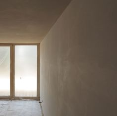coversion of an apartment, reworking the walls and ceilings with natural clay finishing plaster Plaster, Ceilings, Walls, It Is Finished, Clay, Windows, Natural, Room, Furniture