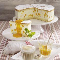Mango-Käsesahne-Torte Rezept | LECKER