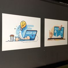 Называется Найдите десять отличий @fritsler_anton181 😉  Idea 💡 startup #illustration #process for @kit8net  #flat #linestyle #ui #icon #design #graphicdesign #laptop #startup #idea #kit8 #forsale