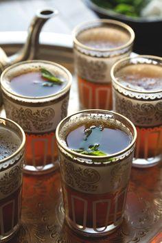 Moroccan Mint Tea by HonestlyYUM