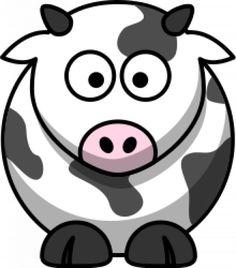 la vache de dessin animé