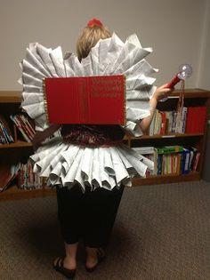 Library Safari: My DIY Book Fairy Costume DICTION FAIRY LIBRARY FAIRY