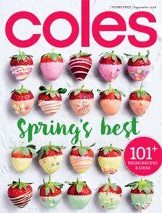 14 Best Coles Magazines Images Coles Recipe Food Recipes
