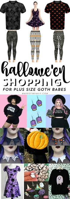 Halloween Shopping for Plus Size Goth Babes