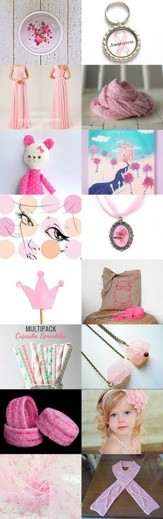 Pink by Diane Waters on Etsy--Pinned with TreasuryPin.com