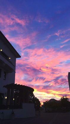 Ideas nature pink purple sunset for 2019 Pretty Sky, Beautiful Sky, Beautiful Places, Beautiful Pictures, Pink Sky, Purple Sunset, Pink Purple, Sky Aesthetic, Sunset Sky