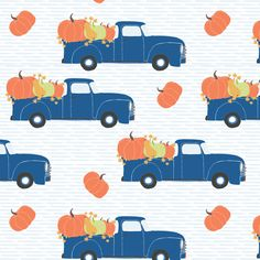 Buy Fun At The Pumpkin Patch - Blue Strip custom fabric, wallpaper and home accessories by shopcabin on Spoonflower Striped Fabrics, Spoonflower Fabric, Custom Fabric, Blue Stripes, Craft Projects, Pumpkin, Kids Rugs, Colorful, Quilts
