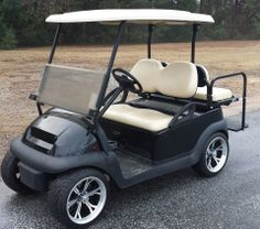 Custom built golf cart with air ride suspension golf for Golf cart garage door prices