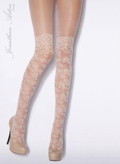 Isn't it Romantic-Lace Tights