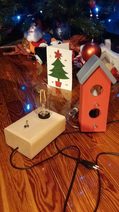 Led edison lamp & birdhouse lamp