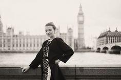 London outdoor fashion portrait photoshoot Big Ben
