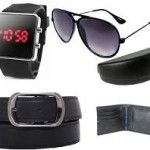 Combo of LED Watch Aviator Belt & Wallet At Rs 349