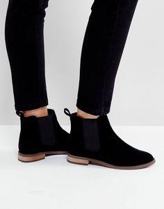 Miss KG Flat Chelsea Boots - Black