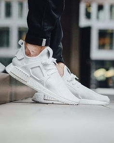 "Adidas NMD_XR1 Primeknit ""Triple White""  Release: Friday, 26th August 2016. Instore first. Berne 