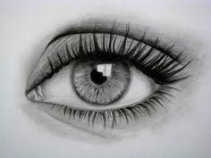 Cómo dibujar un ojo realista y PESTAÑAS!! paso a paso - Taringa!ppppp