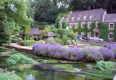 Bibury in the Cotswolds, England