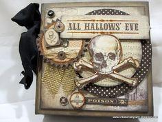 Mini-album de style gothique ~ Les créations de Patti : All Hallows Eve