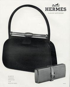 Hermès ad, 1959