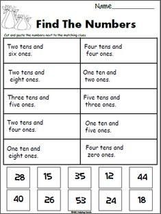 Place Value Fall Worksheet - MadebyteachersYou can find Place values and more on our website.Place Value Fall Worksheet - Madebyteachers Place Value Worksheets, 2nd Grade Math Worksheets, Math Place Value, School Worksheets, Place Value Activities, Teaching Place Values, Teaching Math, Second Grade Math, Grade 2