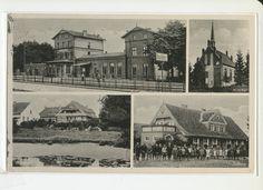 Bischdorf, Bahnhof, Kirche, Gutshof, Schule