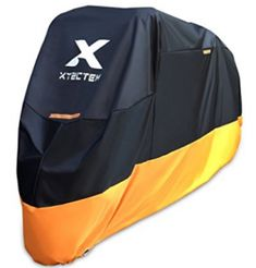 XYZCTEM Motorcycle Cover – All Season Waterproof Outdoor Protection Motorcycle Cleaner, Atv Accessories, Atv Parts, Motorcycle Cover, Motorbikes, Choppers, Air Tools, Tours, Weather