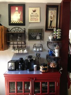 Wonderful Looking For Some Coffee Station Ideas And Inspiration? Here Youu0027ll Find Home  Coffee Bar, DIY Coffee Bar, And Kitchen Coffee Station.