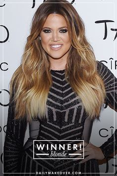 Blonde vs. Brunette: The Ultimate Guide to Which Color Is Most Flattering | Daily Makeover  Khloe Kardashian