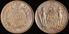 #BritishNorthBorneo 1 Cent, 1887. Check it out and more World Coins at meridiancoin.com, see what's selling on our eBay, or come by our store in #Torrance CA. #coin #money #collecting #numismatic #numismatist