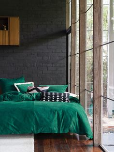 Emerald Willow Quilt Cover Set