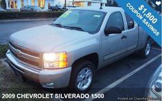 2009 CHEVROLET SILVERADO 1500 / $1,800 IN COUPONS ! Free Coupons Available!!