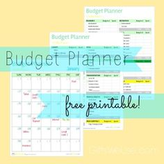 Start the new year off on the right financial foot with this free printable! Budget Planner {free printable} | @Gifts We Use