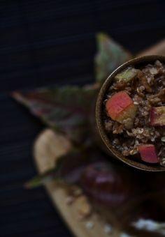 Porridge d'automne (vegan, sans gluten) by Ellen du blog Saveurs végétales www.sweetandsour.fr