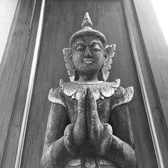 Escultura Tailandesa en un templo budista