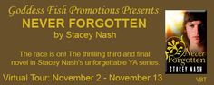 It's Raining Books: Never Forgotten by Stacey Nash - Q&A and Giveaway