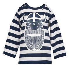 Viking tee in stripes by Danish label Danefae
