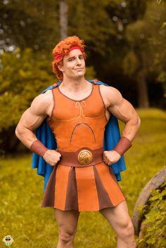 Me as Hercules from Disney by LEOBANECOSPLAY