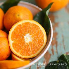Citrus scented Skin Care Sweet Orange Oil Skinfood NZ