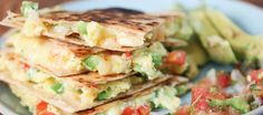 Quesadillas take on breakfast! A fun and nutritious way to enjoy the most important meal of the day with a Mexican twist. Serve with guacamole or salsa for dipping. Recipe by Gina Homolka of Skinnytaste.com Prep time: 10 minutes | Cook time: 10 minutes Ingredients 1 large egg, whisked 1 tablespoon chopped scallion 1 tablespoon …