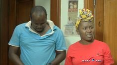 Crying husband.  Kansiime Anne. African comedy.