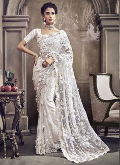 Sarees Online: Shop the latest Indian Sarees at the best price online shopping. From classic to contemporary, daily wear to party wear saree, Cbazaar has saree for every occasion. Fancy Sarees, Party Wear Sarees, Bridal Lehenga, Saree Wedding, Wedding Wear, Wedding Outfits, Indian Dresses, Indian Outfits, Indische Sarees