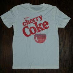 Coca Cola T Shirt Vintage Men's Clothing 80s Cola White Short Sleeve Graphic Tee #CocaCola #GraphicTee