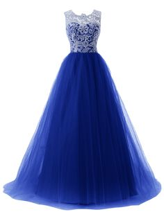 Dressystar Lace Prom Dresses Straps Bridesmaid Ball Gowns with Buttons on Back at Amazon Women's Clothing store: