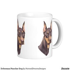 Doberman Pinscher Dog Coffee Mug
